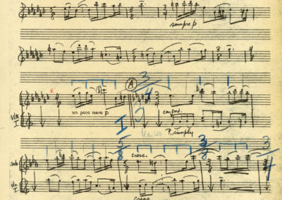 Serenade Score, Movement 1